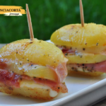 Patate farcite con Pancetta e Taleggio DOP